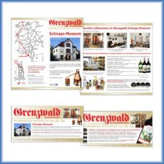 Grenzwald-Destillation-Folder-Flyer