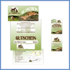 Pet-Adventure-Gutscheine